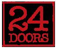 24 Doors logo